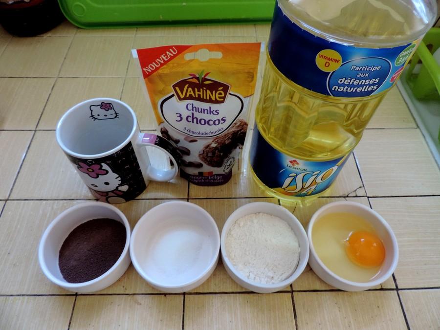 Mug Cake Au Nuttela