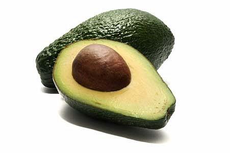Avocat coupé #8 nourriture fruit alimentation légume isolé isoler détourer détouré , avocado cut food vegetable isolated isolate crop cropped