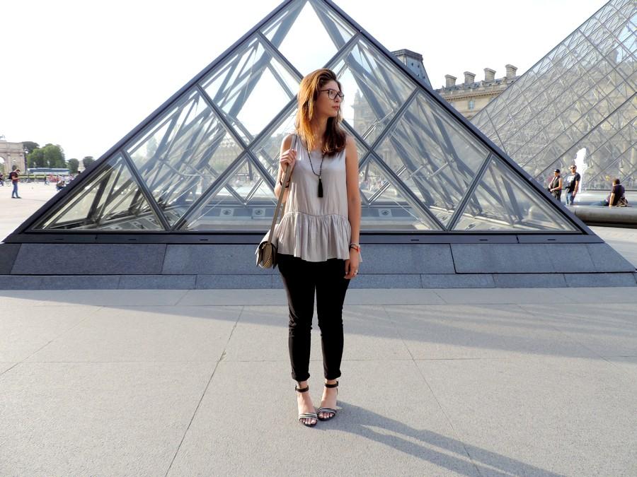 Look au musée du louvre