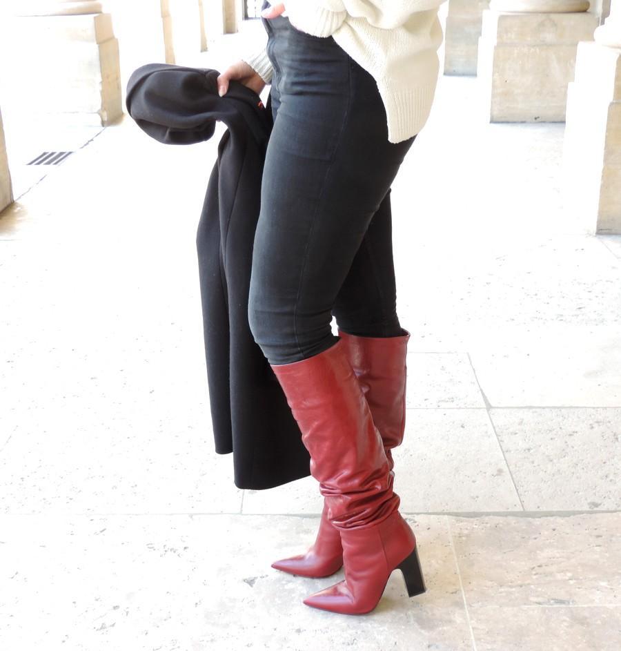 magasiner pour le meilleur grandes variétés nouveau style Mes bottes rouges Zara d'amour - Estelle Test For You