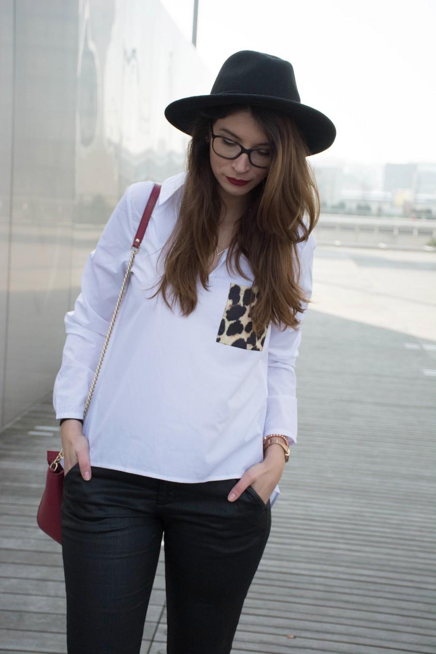 Chemise léopard Zaful