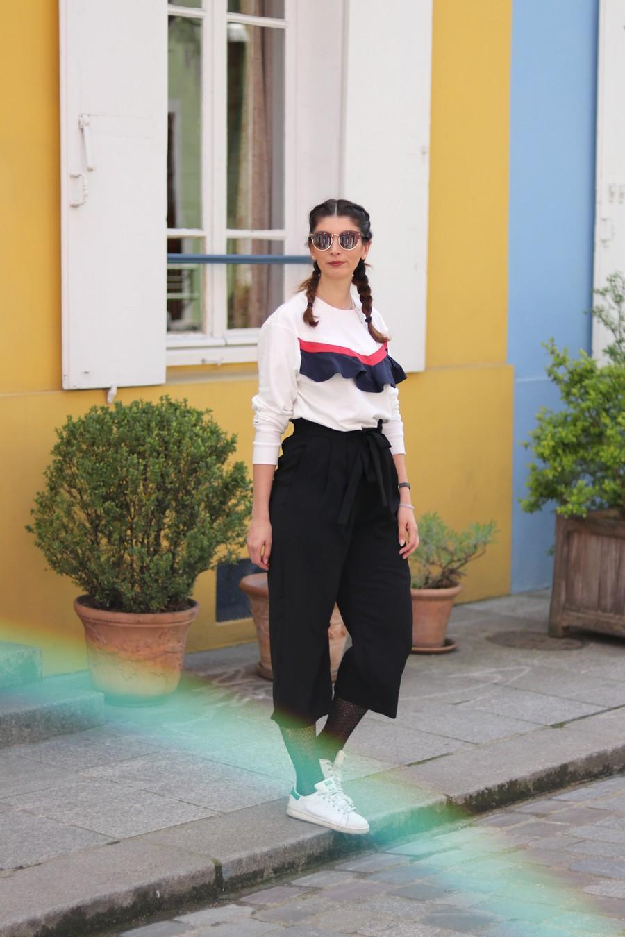 Jupe culotte Zara